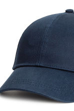 Cotton cap - Dark blue - Ladies | H&M 3