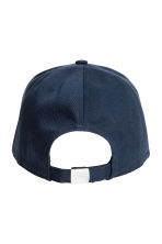 Cotton cap - Dark blue - Ladies | H&M 2