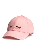Cotton cap - Light pink - Ladies | H&M CN 1