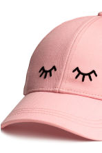 Cotton cap - Light pink - Ladies | H&M CN 3