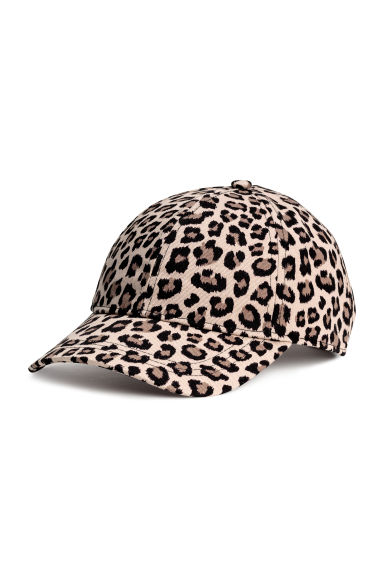 Cotton cap - Leopard-print - Ladies | H&M CN 1