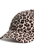 Cotton cap - Leopard-print - Ladies | H&M CN 3