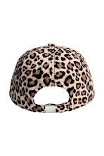 Cotton cap - Leopard-print - Ladies | H&M CN 2