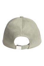 Cotton cap - Khaki green/New York - Ladies | H&M CN 2