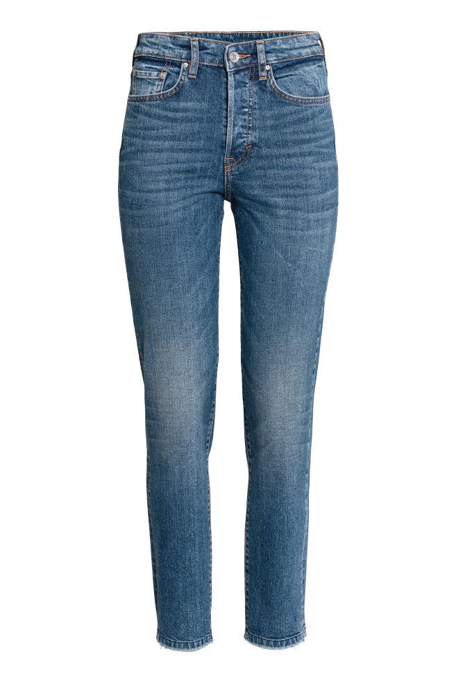 Vintage High Ankle Jeans - Bleu denim foncé - FEMME | H&M FR 1