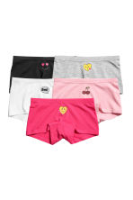 5-pack boxer briefs - Pink/Cherries -  | H&M 1