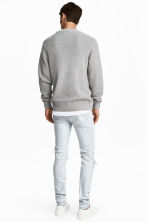 Skinny Low Trashed Jeans - Super light denim - Men | H&M 4
