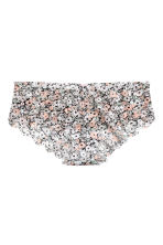 Hipster 蕾絲內褲 - White/Floral - Ladies | H&M 2