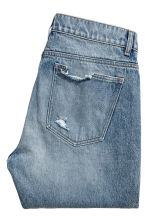 Slim Regular Trashed Jeans - Denim blue trashed - Men | H&M 3