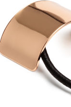 Ponytail cuff - Rose gold - Ladies | H&M CN 2