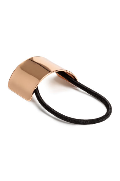 Ponytail cuff - Rose gold - Ladies | H&M CN 1