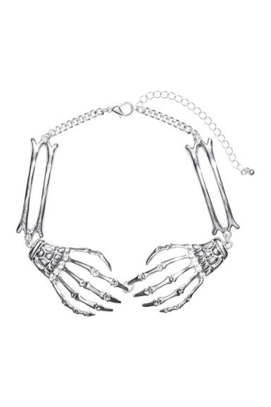 Metal choker - Silver-coloured -  | H&M