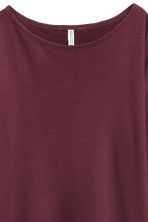 Long-sleeved jersey top - Red - Ladies | H&M CN 3