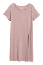 Lang T-shirt - Zachtroze - DAMES | H&M BE 2