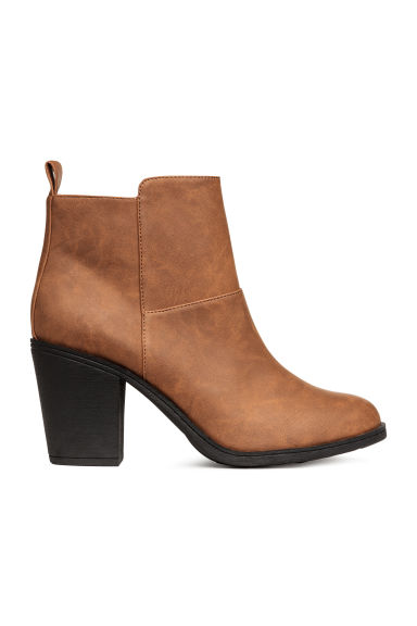 Ankle boots - Camel - Ladies | H&M CN 1