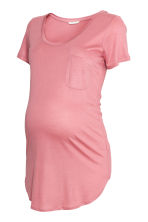 MAMA Jersey top - Pink - Ladies | H&M 1