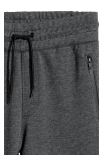 Joggers - Dark grey marl - Men | H&M 3