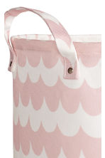Storage basket - Light pink/Patterned - Home All | H&M CN 2