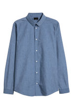 Shirt Slim fit - Light blue - Men | H&M 2