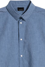 Shirt Slim fit - Light blue - Men | H&M 3