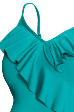 MAMA Swimsuit with flounces - Turquoise - Ladies | H&M 4