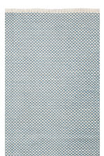 Jacquard-weave cotton rug - Turquoise - Home All | H&M CN 2