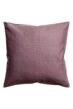 Cotton canvas cushion cover - Heather -  | H&M CA 1