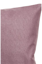 Cotton canvas cushion cover - Heather -  | H&M CA 2