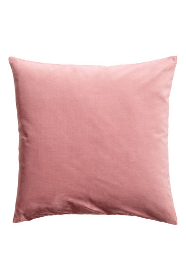 Copricuscino in velluto - Rosa nebbia - HOME | H&M IT 1