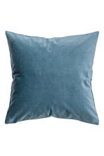Velvet cushion cover - Pigeon blue - Home All | H&M CN 1