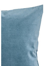 Velvet cushion cover - Pigeon blue - Home All | H&M CN 2