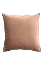 Velvet cushion cover - Camel - Home All | H&M CA 1