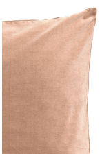 Velvet cushion cover - Camel - Home All | H&M CA 2