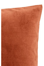 Velvet cushion cover - Dark orange - Home All | H&M CN 2