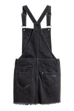 Dungaree dress - Black - Ladies | H&M CN 3