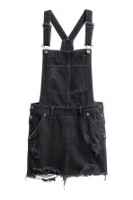 Dungaree dress - Black - Ladies | H&M 2