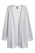 精織開襟衫 - Light grey marl - Ladies | H&M 2