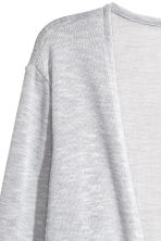 精織開襟衫 - Light grey marl - Ladies | H&M 3