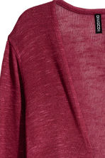Fine-knit cardigan - Dark red - Ladies | H&M CN 3