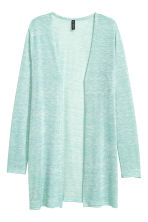 Fine-knit cardigan - Mint green - Ladies | H&M CN 2