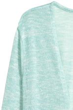 Fine-knit cardigan - Mint green - Ladies | H&M 3