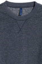 Lightweight sweatshirt - Blue-grey - Men | H&M CN 3