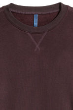 Lightweight sweatshirt - Burgundy - Men | H&M CN 3