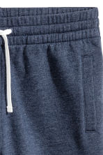 Sweatshirt shorts - Dark blue marl - Men | H&M CA 3