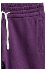 Sweatshirt shorts - Purple - Men | H&M 2