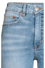 Vintage High Ankle Jeans - Light denim blue - Ladies | H&M 4