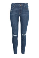 Super Skinny Ankle Jeans - Dark denim blue - Ladies | H&M 2
