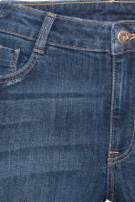Super Skinny Ankle Jeans - Dark denim blue - Ladies | H&M 4