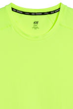 Sports top - Neon green - Men | H&M CN 3