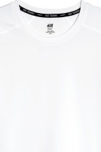 Sports top - White - Men | H&M 3